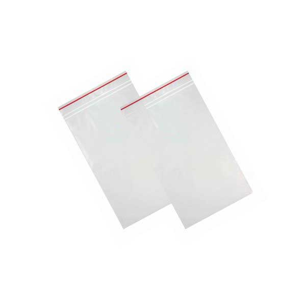 (10×100) GRIP BAGS 40x60mm RED LINE