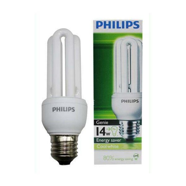 PHILIPS E27 14W COOL DAYLITE GLOBE (screw type)