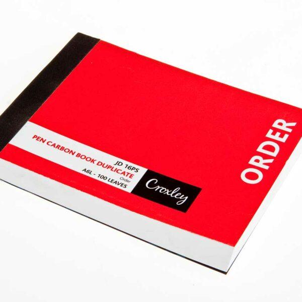 100pg a6 ORDER BOOK  *TBD