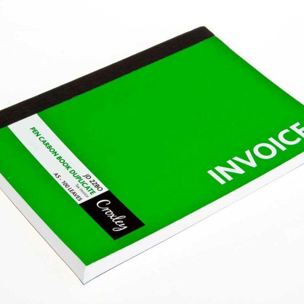 100pg DUPLICATE INVOICE BOOKS A5
