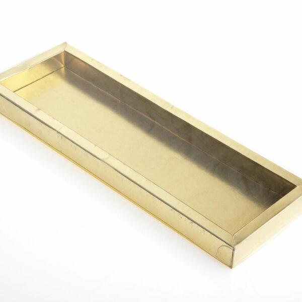 PVC FRAME BOX GOLD BASE 237x50x16mm