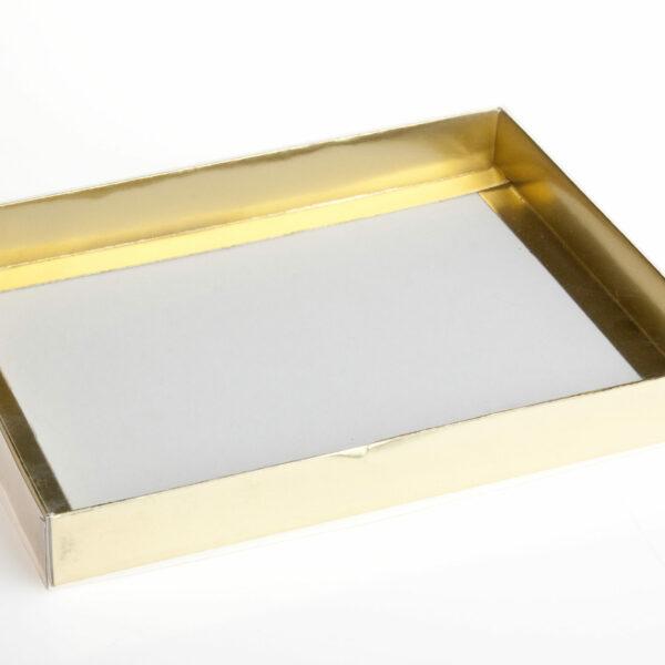 250g CHOC BOX GOLD BS.255x195x30mm