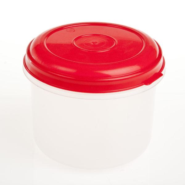 1.5Lt Round Plastic Foodstorer Cont