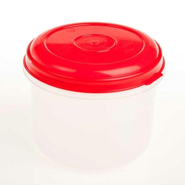 1.5Lt Round Plastic Foodstorer Cont (TBD)