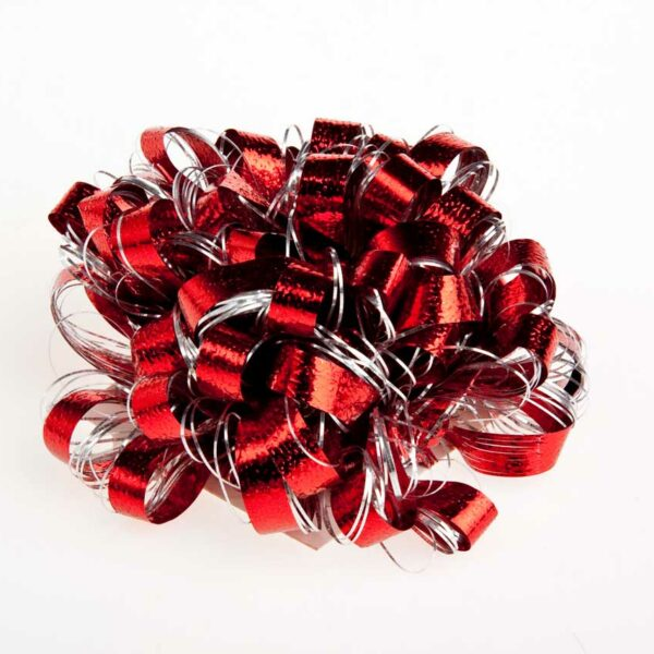 Bow Ball RED/Silver