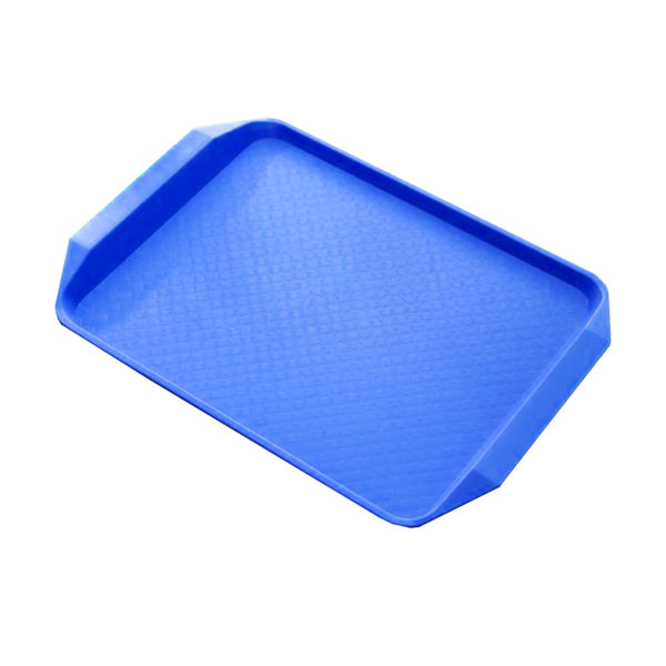 STEEL KING FAST FOOD TRAY BLUE 43x30cm