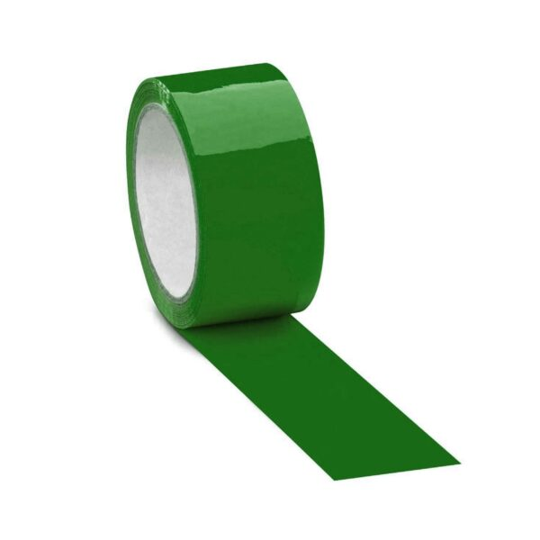 48mmX50mt GREEN COLOUR TAPE
