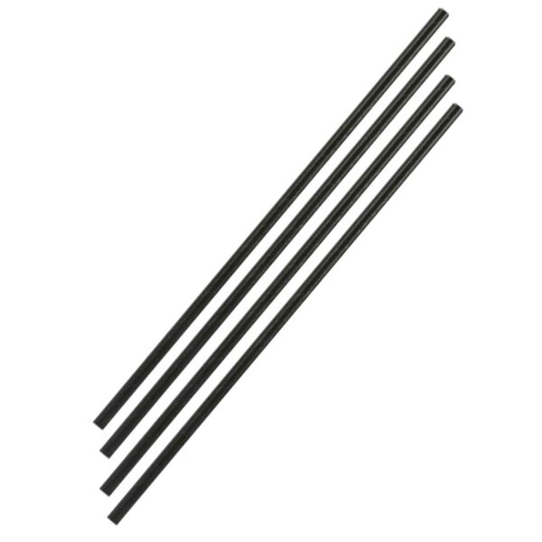 CASE(6X300) UNWRPD LONG ISLAND STRAWS 27cm ASSORTED COLOURS