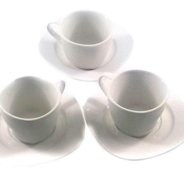 2PC CUP AND SAUCER SET CERAMIC TEA SET    *TBD