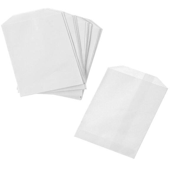 x1000 FLAT WHITE BAGS 1lb(14x19cm)