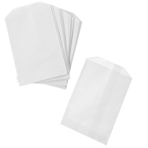 x1000 FLAT WHITE BAGS 3lb(19.5x27c)