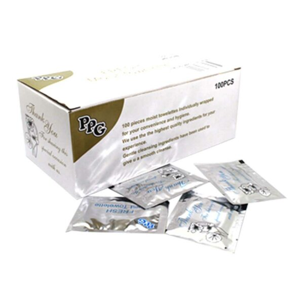 CASE (10×100) WET WIPES SILVER *PPG*