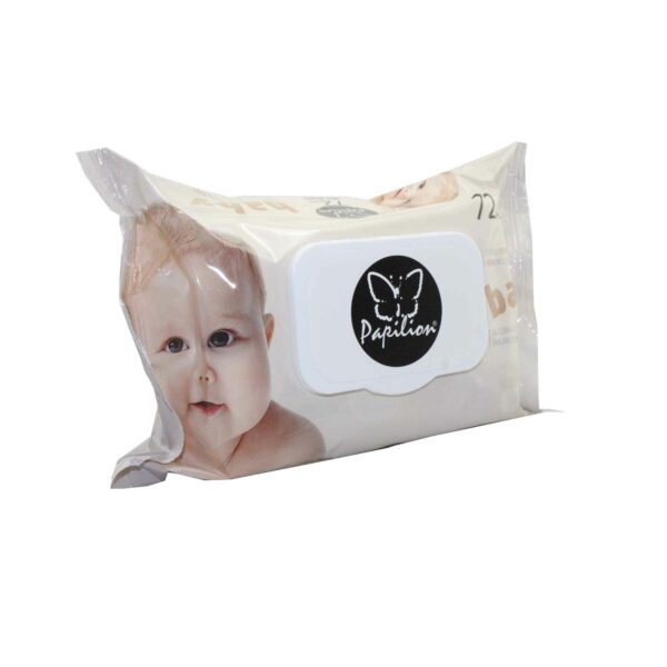 PAPILION BABY WET WIPES 72 PIECES