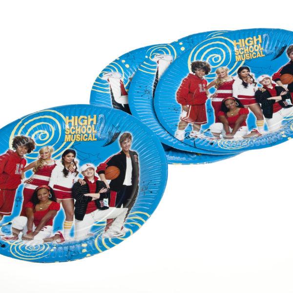 "x10 ""High School Musical"" Plates"