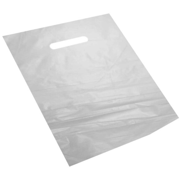100 HD FROSTED BOUTIQUE BAGS 43x50x50mic