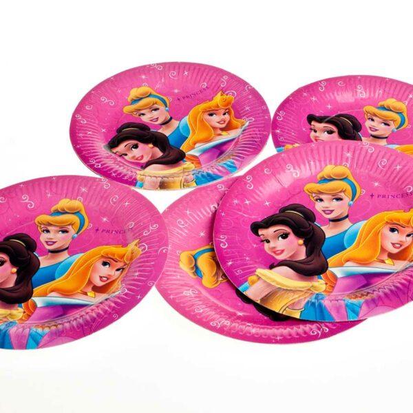 10's Princess Party plates