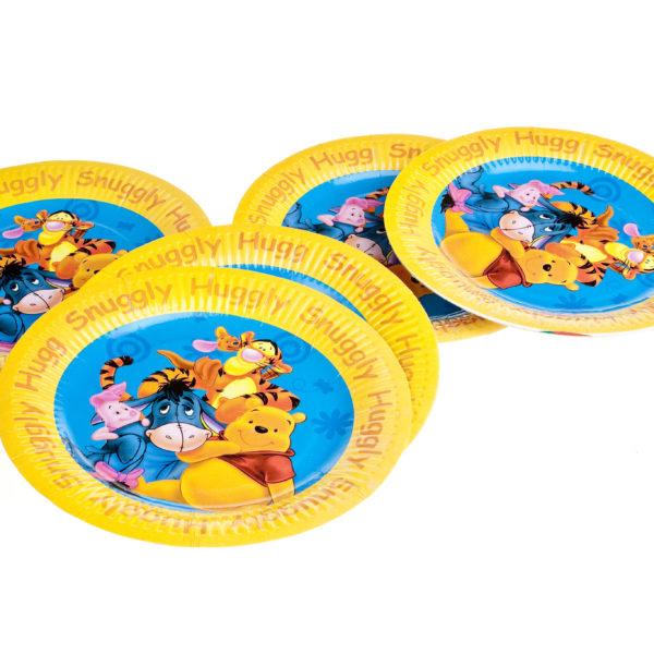 """x10 """"Winnie The Pooh"""" Plates"""