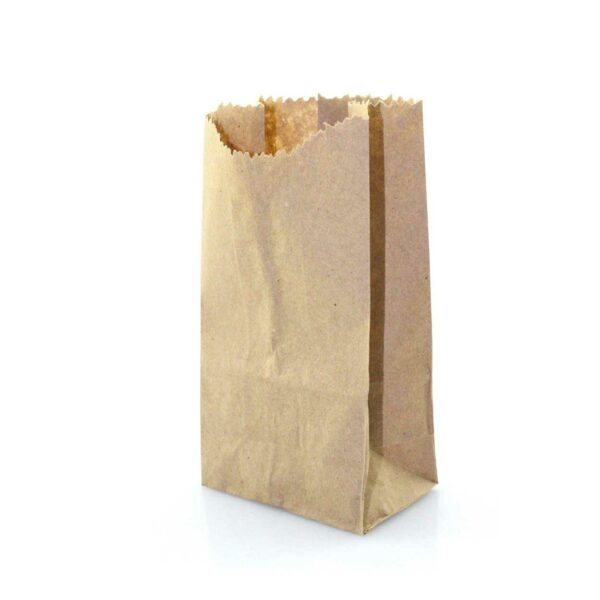 (100) S.O.BROWN BAGS SIZE 1/2